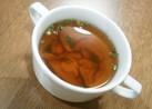 マツタケの吸い物、スープ風
