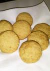 バターとラードの簡単チーズクッキー