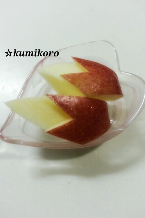 小さめ♡ウサギりんご