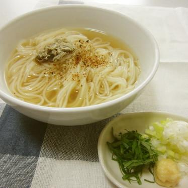 簡単★スピードにゅうめん★温かい素麺