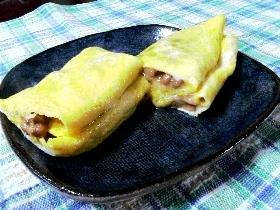 ☆卵焼きin納豆チーズ