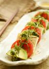 豆腐とアボカドの和風カプレーゼ