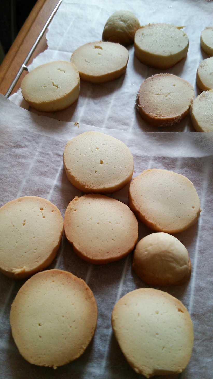 バター少量卵なし簡単ミルククッキー