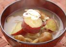 なめことさつま芋の味噌汁