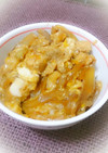 【レポ20】簡単甘めの親子丼。