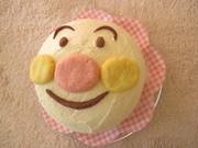 アンパンマンケーキの写真