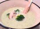 まるごとブロッコリーのチーズスープ