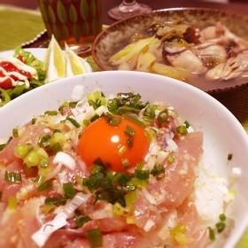簡単☆激ぅま‼海鮮丼