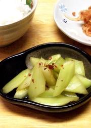きゅうりの生姜漬けの写真