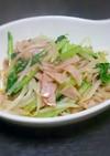 小松菜ともやしの絶品中華炒め