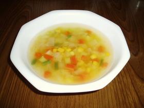 野菜ざくざくスープ