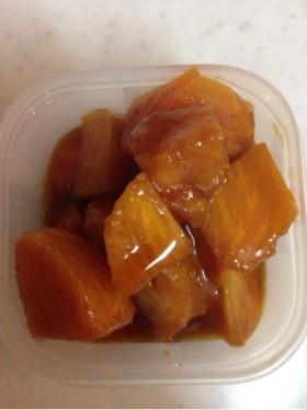 柿のキャラメリゼ  (柿の保存)