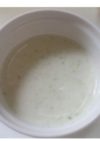 離乳食:初期〜キャベツと豆腐のポタージュ