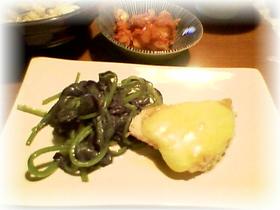 メカジキの味噌チーズソテー