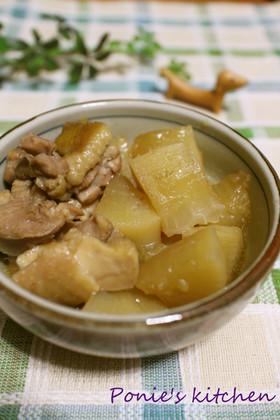 ほくほく♪大根と鶏もも肉の煮物