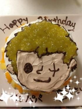 ONE PIECEゾロ♪キャラケーキ