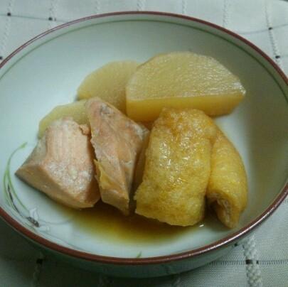 大根と鮭の味噌煮