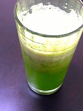 爽やか♪朝のグリーンジュース