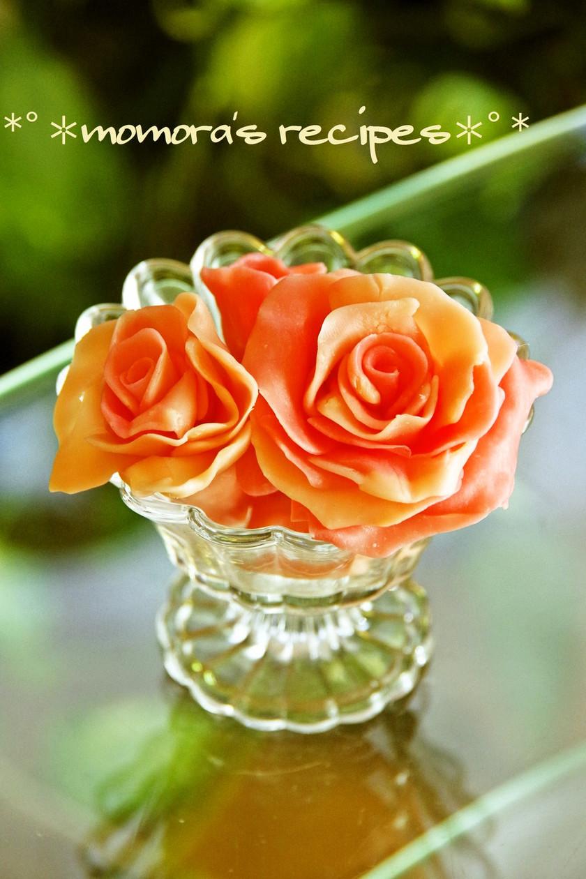 本命用デコレーションに♡簡単チョコの薔薇