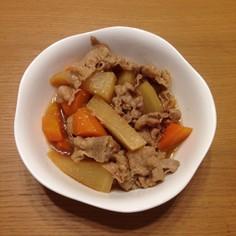 豚バラ肉とかぶの煮込み