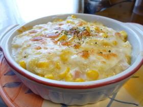 冬に食べたい!!白菜のマカロニグラタン