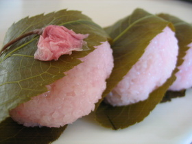 春色桜餅(レンジで簡単♪)