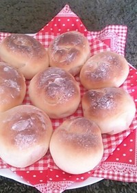 HB☆簡単ヨーグルト&千歳飴でパン!