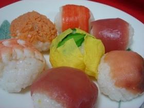 春の手まり寿司