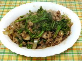 春野菜の西安風炒め