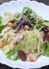 レタスとカニカマ☆和風☆味噌サラダ