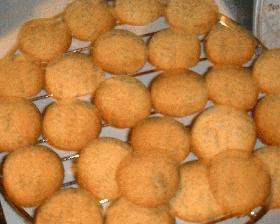 レモンとポピーシードのクッキー