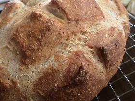 ホシノ酵母でシンプルパン