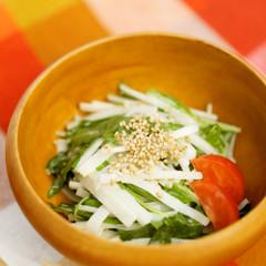 ✸大根と水菜のゴママヨサラダ✸
