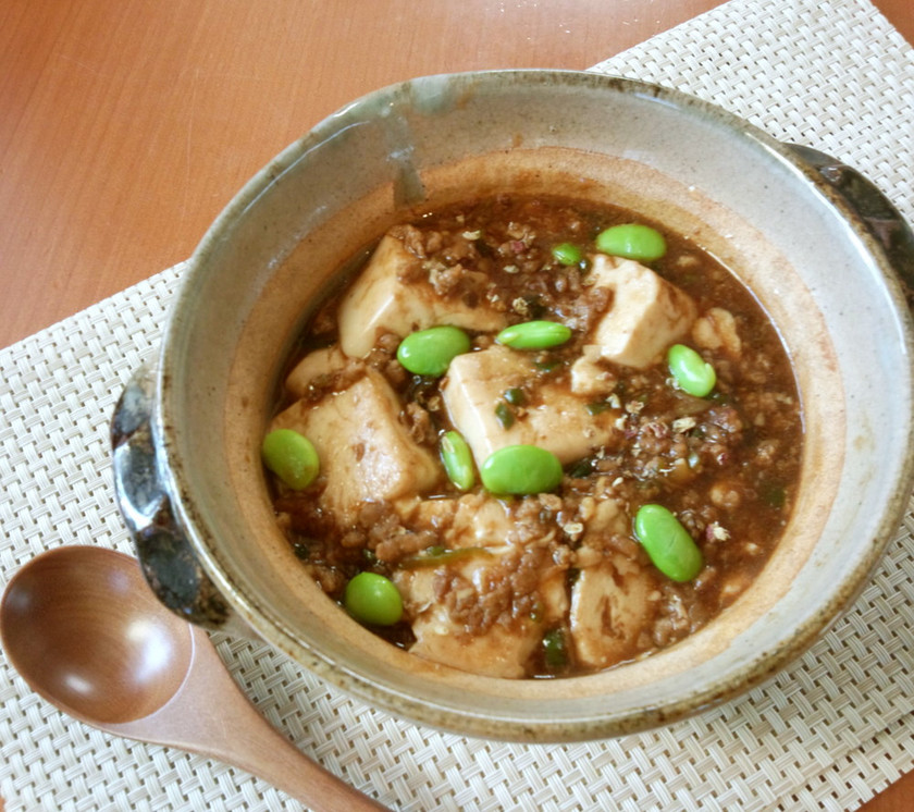 塩麹が決め手!中華街の本格的麻婆豆腐