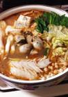 魚介のチゲ鍋