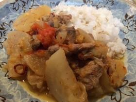 豚ロース肉と大根の煮物「パクシャバ」