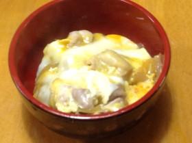 親子丼やカツ丼を麺つゆで美味しく簡単に♪