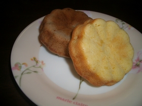 マーガレット型レモンケーキ