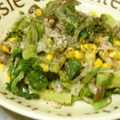 シンプル菜の花サラダ