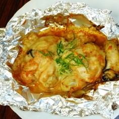 かきマヨキムチーズ焼