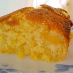 柚子のふんわりケーキ