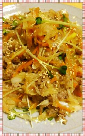 簡単♪牛肉と大根の生姜炒め