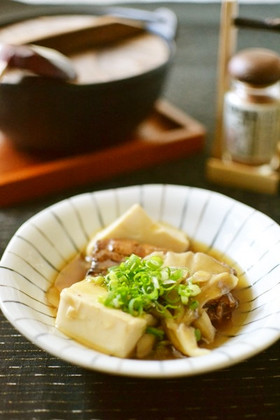 さんま缶と豆腐のうま煮【作りおき】