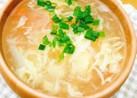 ふわふわ玉子の中華スープ
