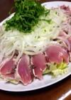 鰹のタタキ♡サラダ