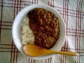簡単!フープロで作る挽肉カレー!!