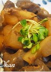 大根とコンニャクの炒め物