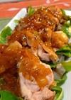 クローブが香る鶏肉のオレンジソース煮