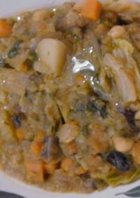 トスカーナ州伝統料理~リボッリタ