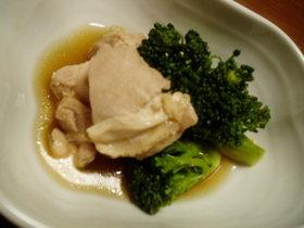 鶏肉とブロッコリーのさっと煮♪